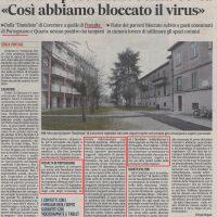 IL GAZZETTINO DEL 27/04/2020: CASE DI RIPOSO ANCHE SENZA COVID. COSI' ABBIAMO BLOCCATO IL VIRUS