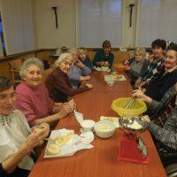 Le nostre ospiti hanno preparato la Torta ricotta e mele!!